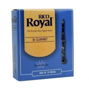 RICO ROYAL Bb CLARINET 1.0 REEDS BOX OF 10