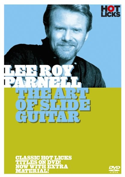 LEE ROY PARNELL THE ART OF SLIDE GUITAR HOT LICKS DVD HOT199 LEARN LICK LIBRARY