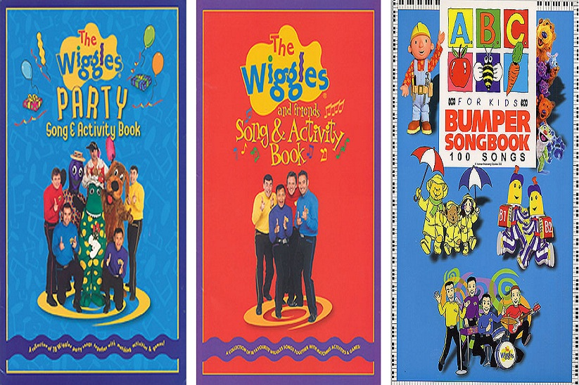 ABC BUMPER SONG BOOK & WIGGLES PARTY SONG / ACTIVITY & WIGGLES ...