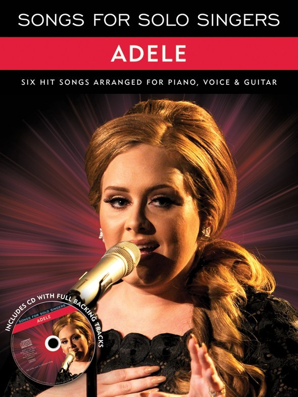 ADELE SONGS FOR SOLO SINGERS PIANO VOCAL GUITAR PVG SHEET