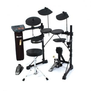 ELECTRONIC DIGITAL DRUM KIT D-TRONIC Q5-PLUS + ALL ACCESSORIES & DRUM STICKS