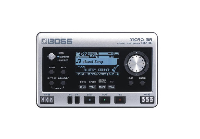 BOSS BR-80 MULTI TRACK DIGITAL RECORDER BR80 + SONAR X1 LE SOFTWARE