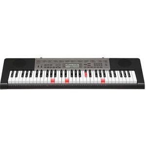 LIGHT UP CASIO LK240 DIGITAL ELECTRONIC PIANO KEYBOARD & BONUS ADAPTOR