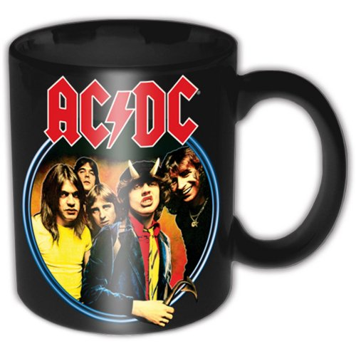 OFFICIAL LICENSED ACDC DEVIL ANGUS BOXED COFFEE MUG AC/DC CUP