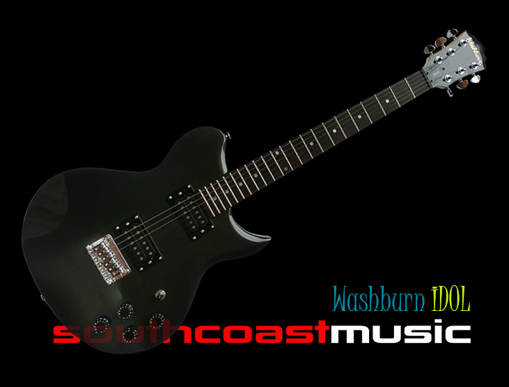 WASHBURN IDOL WI-SCM ELECTRIC GUITAR PACKAGE METALLIC GREY - ONLY $349 SAVE $$$!