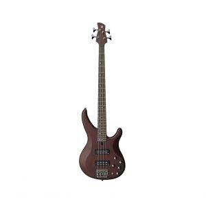 Yamaha TRBX504 4-String Electric Bass Guitar Translucent Brown