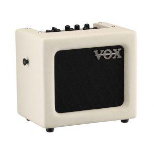 VOX MINI3 Modeling Guitar Amplifier 3 Watt Electric Guitar Amp Ivory