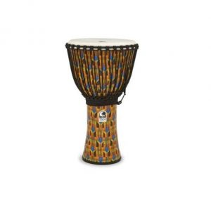 TOCA KENTE PRINT DJEMBE HAND DRUM 10inch INCH