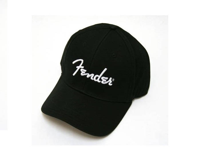 fender cap black