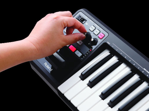 roland a88 usb midi controller keyboard with 88 weighted hammer action keys south coast music. Black Bedroom Furniture Sets. Home Design Ideas