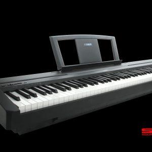 YAMAHA P35B 88-Key PORTABLE DIGITAL PIANO BLACK FINISH THREE YEAR WARRANTY *INCLUDES DELIVERY!