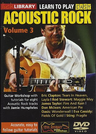 RDR0049 lick library easy acoustic rock volume 3