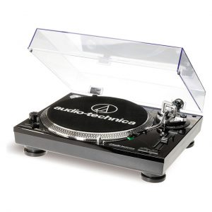 AUDIO TECHNICA LP120USB TURNTABLES BLACK