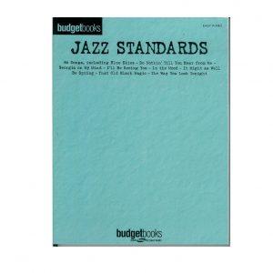 budget book jazz standards song book