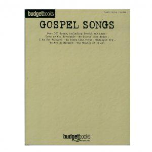 budget books gospel song book