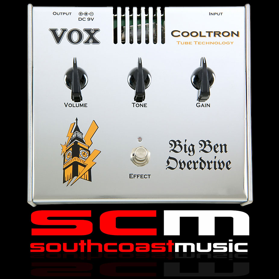 VOX BIG BEN DISTORTION RARE BRAND NEW FROM THE SCM VAULT Postage + Handling included