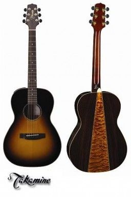 TEG406SVS Takamine EG406S-VS New Yorker Solid Top Acoustic Electric Guitar