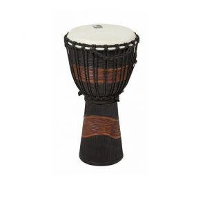 toca 12 inch djembe hand drum black brown TOCTSSDJLB street series