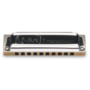Suzuki manji m20 harmonica IN CARRY CASE