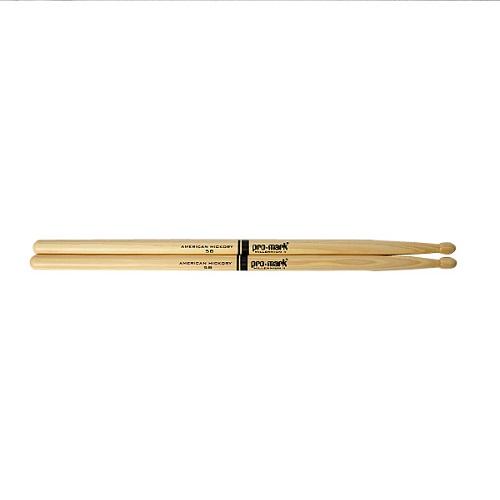 PROMARK 5B Wood Tip Drumsticks American Hickery PROMARK Drum Stick TXA5BW