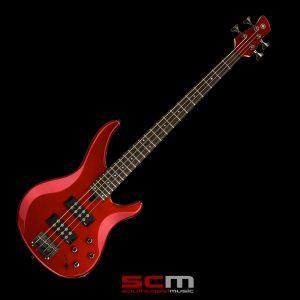 Yamaha TRBX304 4-String Electric Bass Guitar Metallic Red