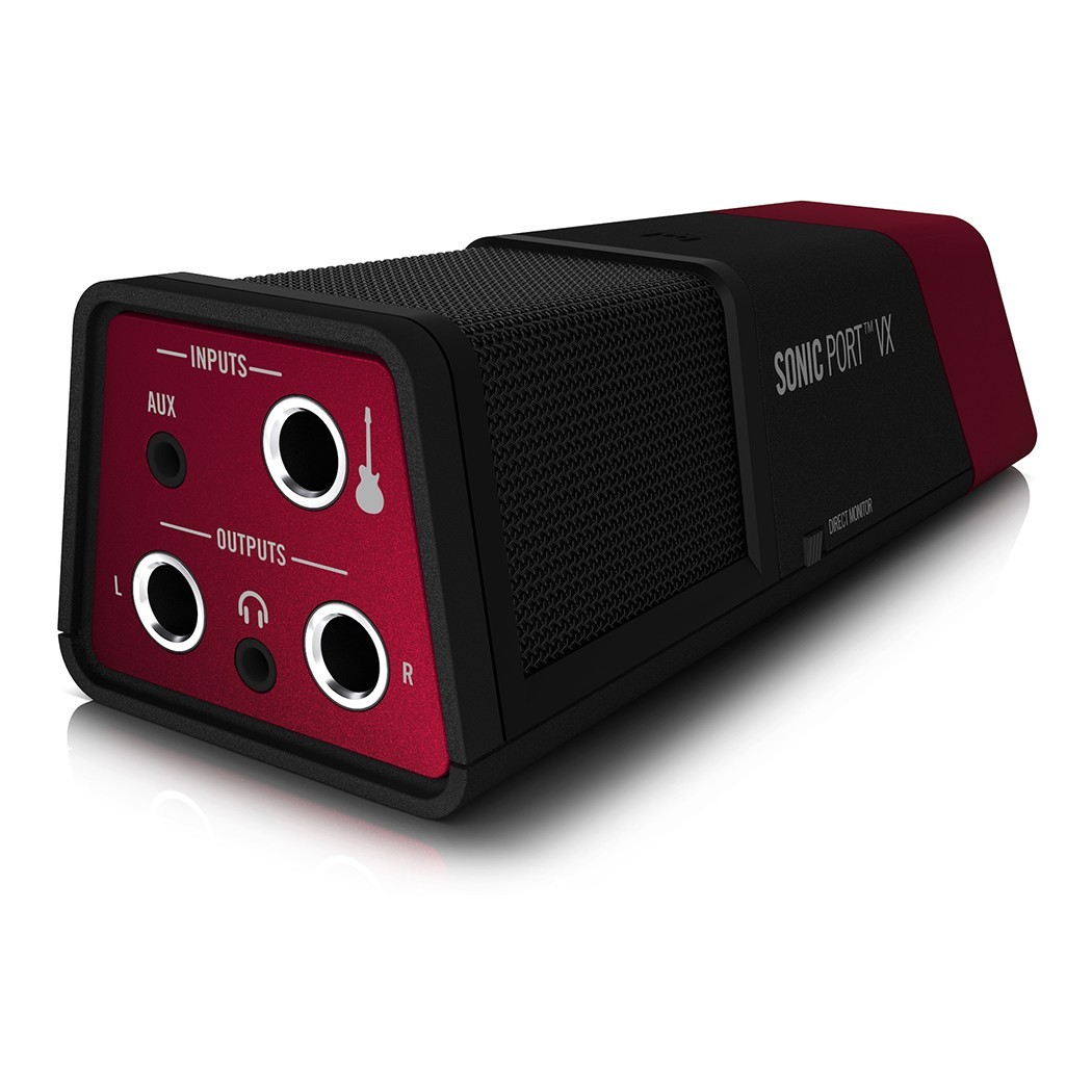 line 6 sonic port vx audio interface and condenser microphones south coast music. Black Bedroom Furniture Sets. Home Design Ideas