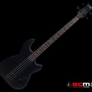 MATON JB4 ELECTRIC BASS GUITAR IN CASE SATIN BLACK LACQUER