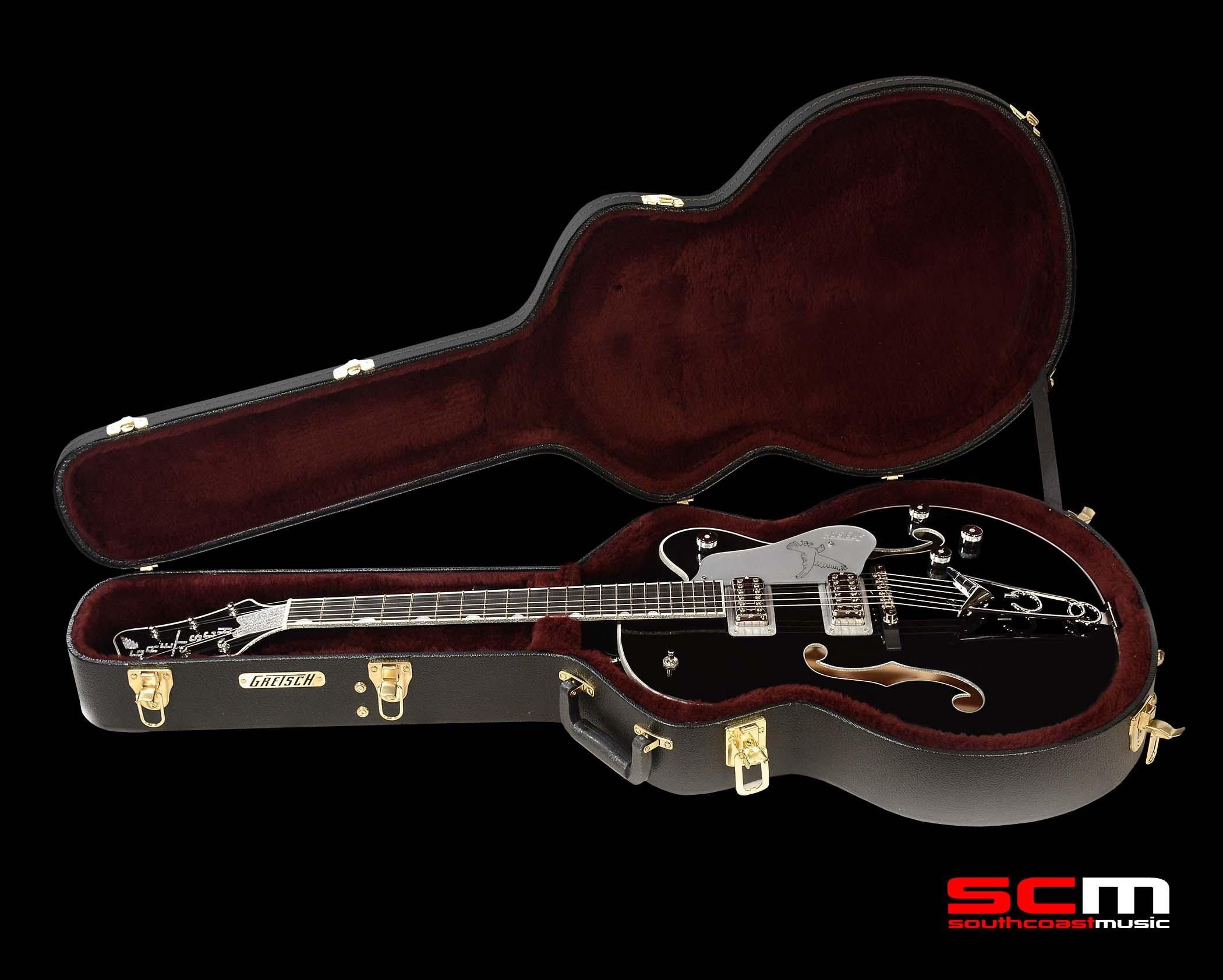 gretsch electric guitar g6139cb silver falcon center block single cutaway south coast music. Black Bedroom Furniture Sets. Home Design Ideas