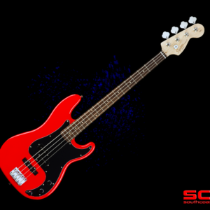 FENDER SQUIER AFFINITY SERIES PRECISION BASS PJ RACE RED FINISH