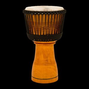 """Toca Master Series Wooden Djembe 12"""" in Natural with Bag Rope Tuned Hand Carved"""
