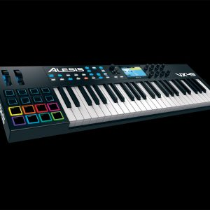 Alesis VX49 49-Key Fully Integrated USB-MIDI Controller Colour Screen Keyboard