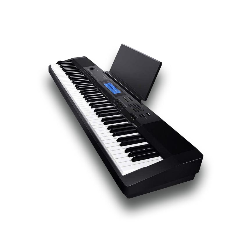 CASIO CDP235BK 88 Note Weighted Keys Digital Piano with Arranger Functions  Five Year Warranty