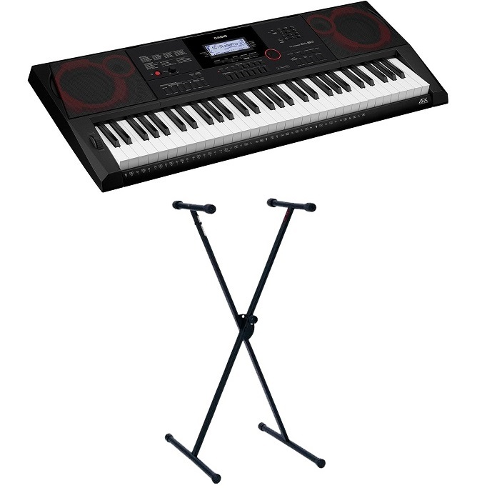 Casio CTX3000 Touch Responsive Digital Keyboard CT-X3000 AiX Sounds with Stand