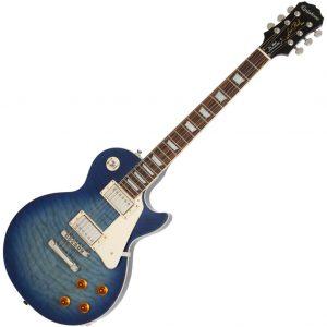 Epiphone Limited Edition Les Paul Quilt Top Pro Translucent Blue EN1QTLNH3