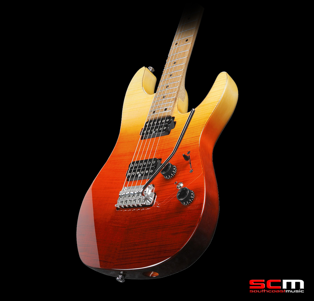 Ibanez AZ242F TSG Electric Guitar Tequila Sunrise Gradation Finish Premium  Series Electric Guitar Case Included