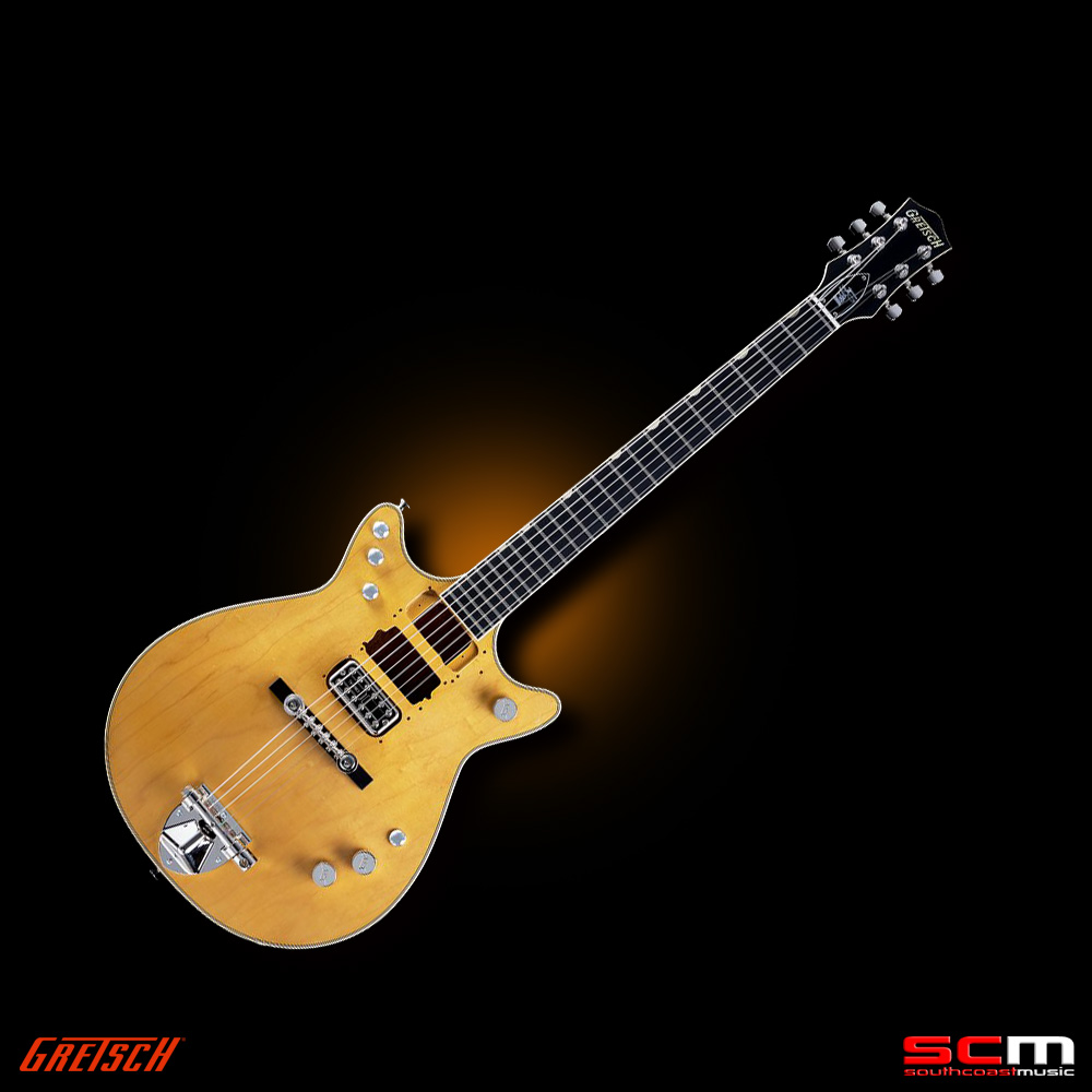gretsch jet g6131 my malcolm young signature jet electric guitar with case south coast music. Black Bedroom Furniture Sets. Home Design Ideas