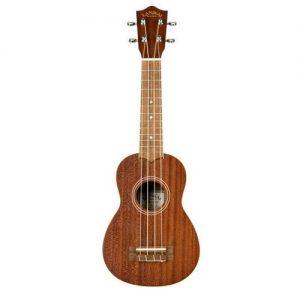 Lanikai LMS Soprano Size Ukulele Hand Crafted All Solid Mahogany Uke Rosewood Fretboard